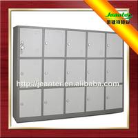15 door metal mini kids lockers used in primary school