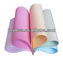 china supplier bank paper, color carbon NCR paper