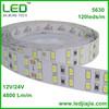 2014 shenzhen factory 120leds led 5630 double row natural white