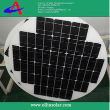 round solar panel, 80W mono solar module