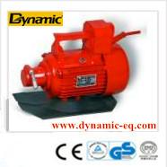 Light weight high intensity plate concrete vibrator