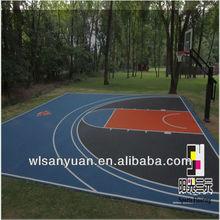 basketball floor tiles/volleyball floor tiles/badminton floor tiles/sports floor tiles/gym floor tiles