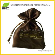 Guangdong hot sale drawstring custom velvet bag for gifts