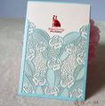 بطاقة زفاف صنع في الصين وكوريا و في لاهور بطاقة دعوة بطاقة دعوة الزفاف مسلم الإنجليزية
