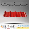 brick red steel roofing sheet alibaba china supplier
