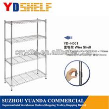 Cheap 5-Tier Metal Steel NSF Industrial Grade Shelf Wine Display Shelf