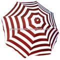 Promocional dobráveis de praia guarda-chuva com logotipo personalizado