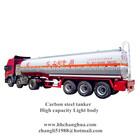 3 axlessteel tanker,insulated tanker semi trailer for industry oil, bitumen made in China