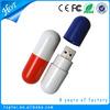 Low cost gadget 4gb pill usb pendrive