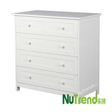 Wooden 4 Drawer Chest/Dresser/Chest of drawer