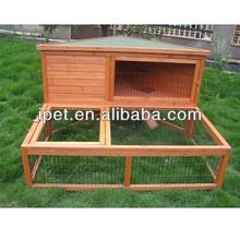 Custom Wooden rabbit hutch with extra run RH021