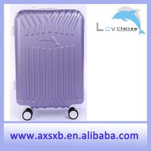 cheap ABS luggage set hardside luggage set aluminum frame zipper luggage rotary luggage press-resistance luggage