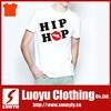 Plain t-shirt printing with Hip Hop