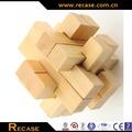 Classico puzzle 3d assortiti mano- artigianale puzzle di legno acero croce, rompicapo