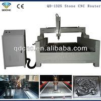QD-1325 marble engraving cnc lathe/stone cnc router manufacturer