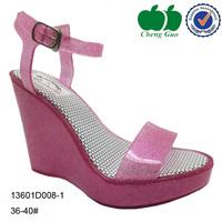 fashion wedge heels women sandals shoes 2014