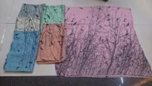 yiwu fábrica al por mayor de voile bufanda bufanda del poliester del árbol de la figura de aves
