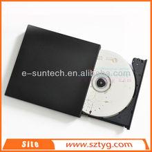 ECD002-DW China Wholesale Plug&Play USB2.0 Laptop External DVD DVDRW CDR/RW Drive/External USB DVD ROM Writer