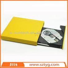 ECD002-DW China High Quality Plug&Play USB2.0 Laptop External DVD DVDRW CDR/RW Drive/External USB DVD ROM Writer