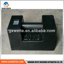 Standard cast iron weights 10kg 20kg 25kg 50kg 100kg 1000kg made in China
