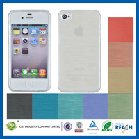 C&T TPU brushed soft protector cover for case iphone 5s