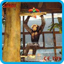 Amusement park high quality indoor life-size animatronic monkey