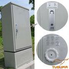 Pole Mountable telecom equipment outdoor cabinet