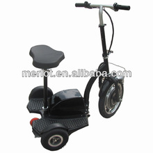 two-wheeled pedal start scooters