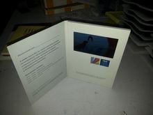 4.3 inch 2012 hot sale brochure lcd screen video greeting card