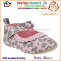 Moda sapatos de bebê menina infantil sapatos de leopardo padrão