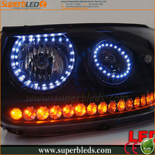 DC12V universal 131mm/146mm multicolor led angle eyes for BMW E46
