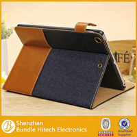 Jean Fabric Magnetic Stand Case Smart ID Card Cover for iPad Air Pad 5
