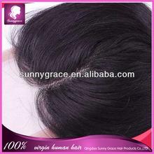 Cheap Lace Top Closure,Virgin Brazilian Wave Hair Middle Part Lace Closure Bleached Knots Swiss Lace