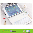 For Apple iPad 4 3 2 Stand Leather Case Cover With Bluetooth Keyboard White