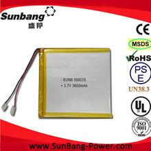 high capacity 3.7v 25100130 30Ah lithium polymer battery packs 3.7V li-ion battery 900mAh 3000mAh 1000mAh