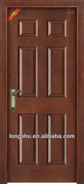 New design interior single wooden door with competitive for New single door design