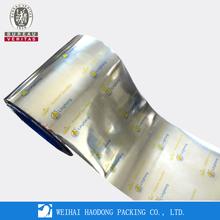 Plastic Packaging Roll Film For Sachet Shampoo