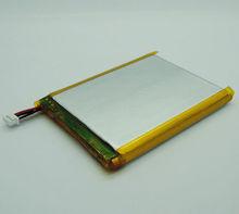 3.7v 3100mah lithium polymer battery size 4.0 x 80 x 90mm