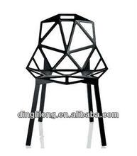 modern design hollow matel structure leisure chair