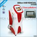 Super resfriamento depilação 808nm diodo Laser para toda a pele cores