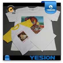 Inkjet dark and light printing on t shirt transfer paper for cotton texitle