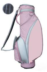 wholesale luxury handmade custom made personalized waterproof womens ladies lightweight nylon pink golf bags golf parts