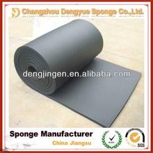 Shock Absorption Heat Insulation Black NBR Foam Rubber sheet