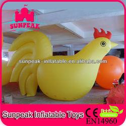 Cock Advertising Inflatable helium Balloon, Outdoor Events Advertising Inflatables, Party Inflatables Balloon