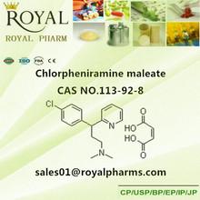 Clorfeniramina maleato de cas no. 113-92-8