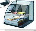 metal mesh desktop organizer