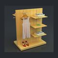 Display de gôndola/sapatos de madeira gôndola stand