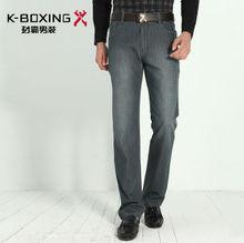 K-BOXING Brand Spring Urban Fashion Men's Jeans, Pants