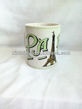 ZIBO XINYU XY-056 110z Ceramic Mug with Full Handpaint