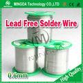 Utiliza la soldadura libre de plomo de la aleación de estaño de guangzhou, super alambre de la soldadura, de soldadura de estaño 60/40